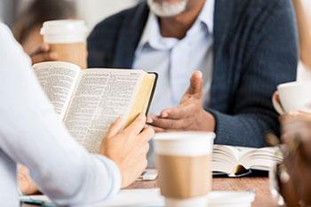 Bible Study at Smoker